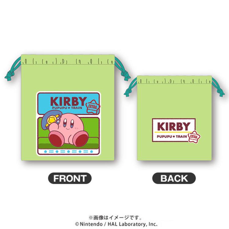 星のカービィ プププ☆トレイン EXTRA 巾着 ロゴ | TBSショッピング
